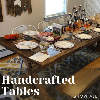 Dusty Dude Woodworks Handmade Tables