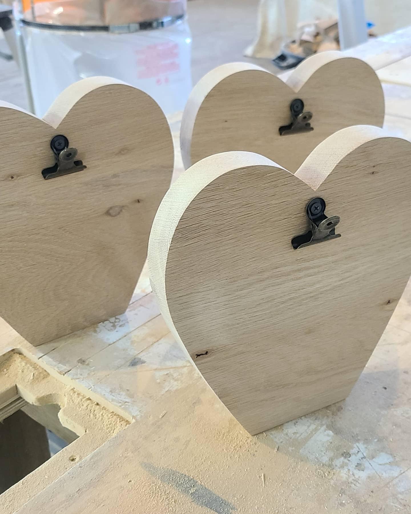 Custom Heart Clip Frames