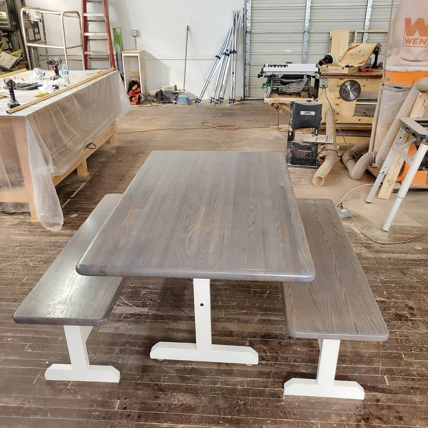 Custom Table and benches