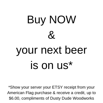 Buy Now & Your next beer is on us