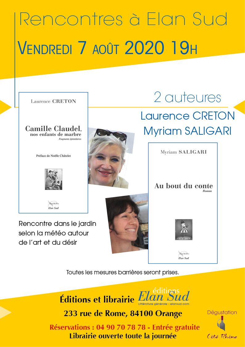 myriam Saligari, Laurence Creton