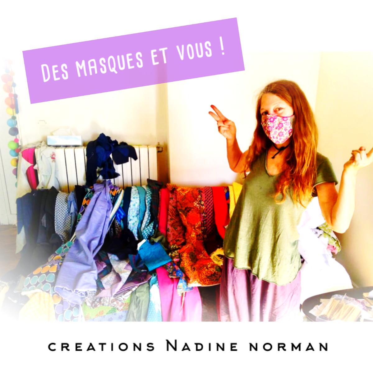 Collecte de fonds: « Des masques Et Vous » Creations Nadine Norman  Tant de magnifiques masques uniques à choisir Dites-moi vos couleurs et motifs préférées et je créerai a nouveau avec plein d'INSPIRATION et d'AMOUR 💕 des masques sur mesure JUSTE POUR VOUS !