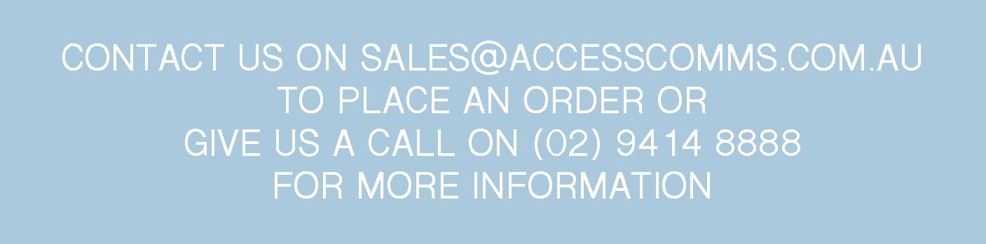 Access Contact Details 0294148888 & sales@accesscomms.com.au