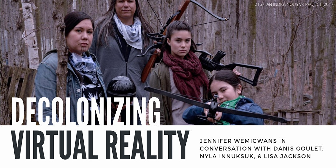 Decolonizing Virtual Reality event banner
