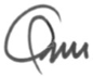 Ann Coffey's signature