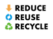 Reduce Reuse Recycle logo