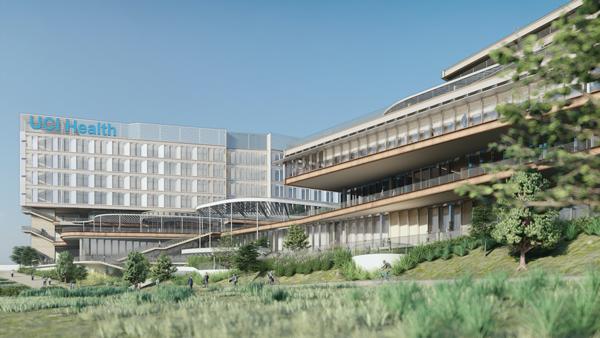 Rendering of UCI Medical Center Irvine-Newport