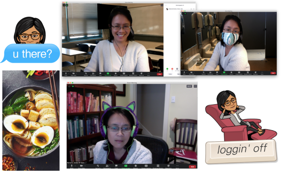 The many faces of Maricel Santos.
