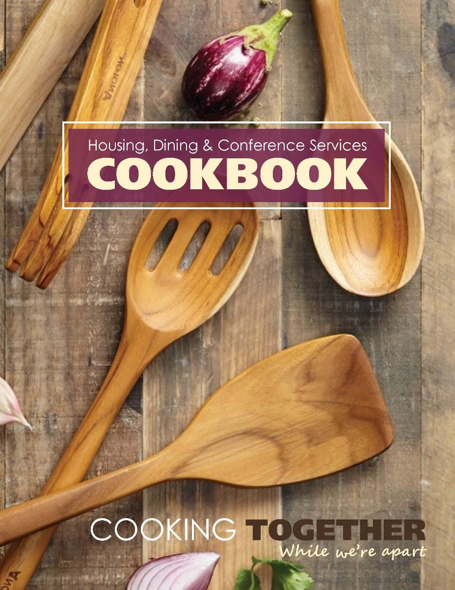 Housing, Dining, and Conferences Services cookbook cover