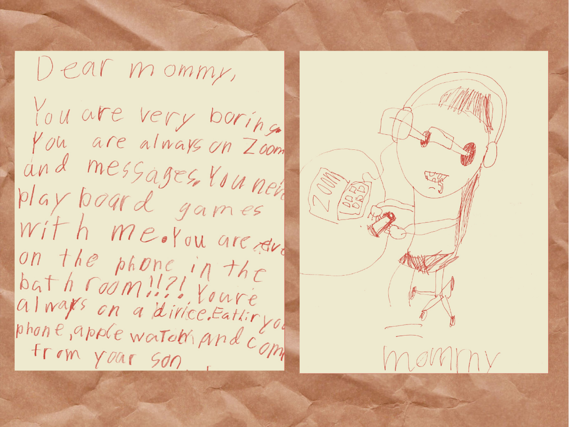 Anonymous child's drawings