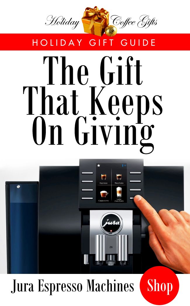 The Gift That Keeps OnGiving - Jura Espresso Machines