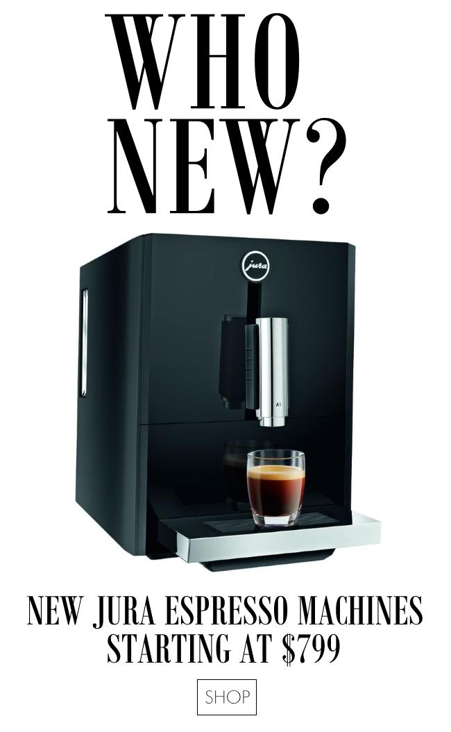New Jura espresso machines starting at $799