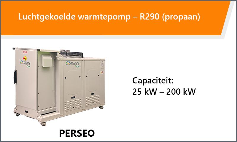 Luchtgekoelde warmtepomp – R290 (propaan)