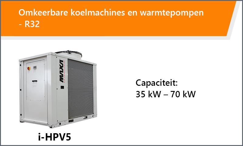 Omkeerbare koelmachines en warmtepompen - R32