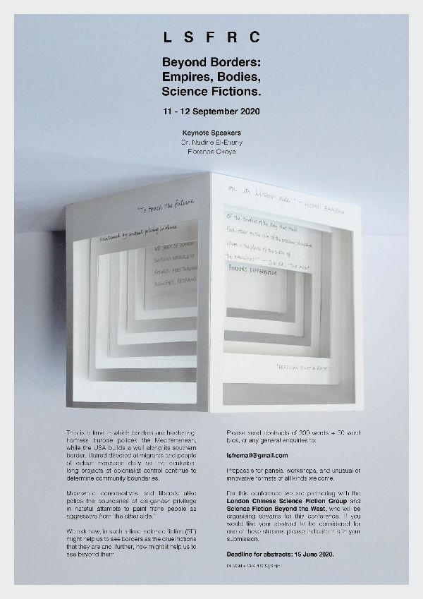Image:'Beyond Borders conference art' – Sinjin Li (2020)