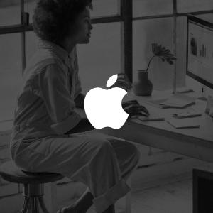 Mujer Apple empresaria