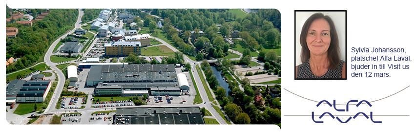Visit us på Alfa Laval