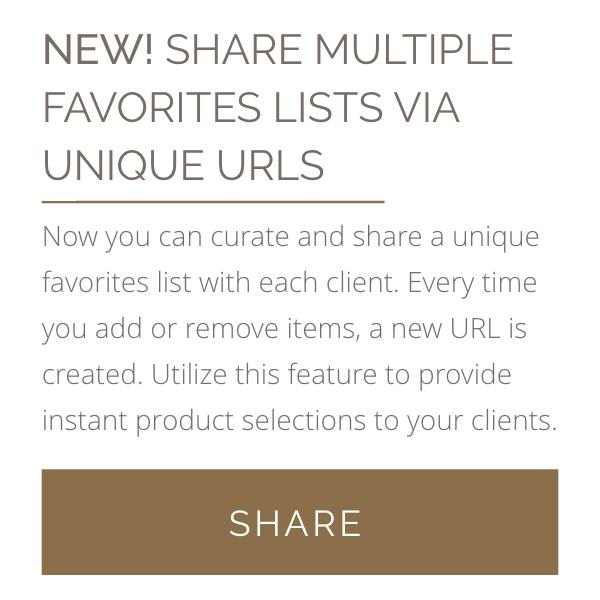 New Share Multiple Favorites List