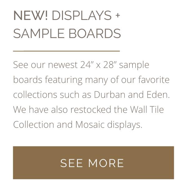 New Displays + Sample Boards
