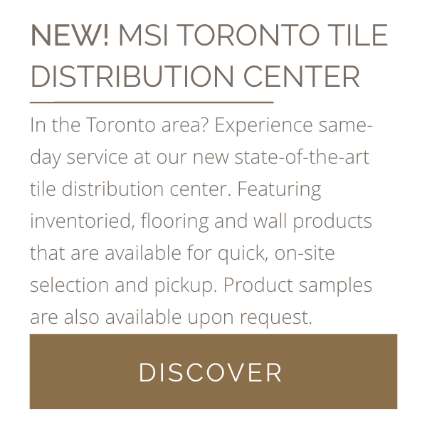 New MSI Toronto Tile Distribution Center