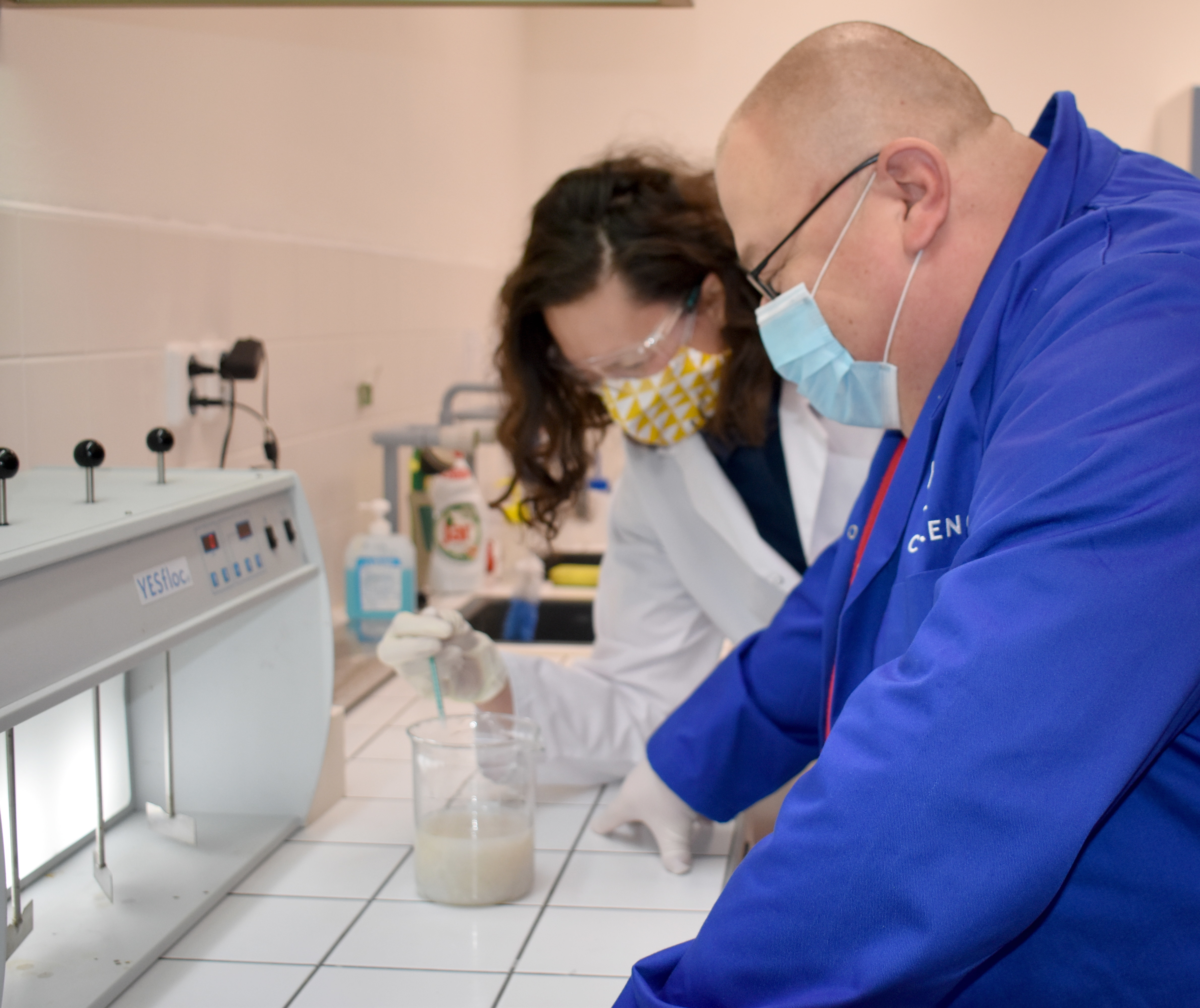 Safety in AMCON´s laboratory