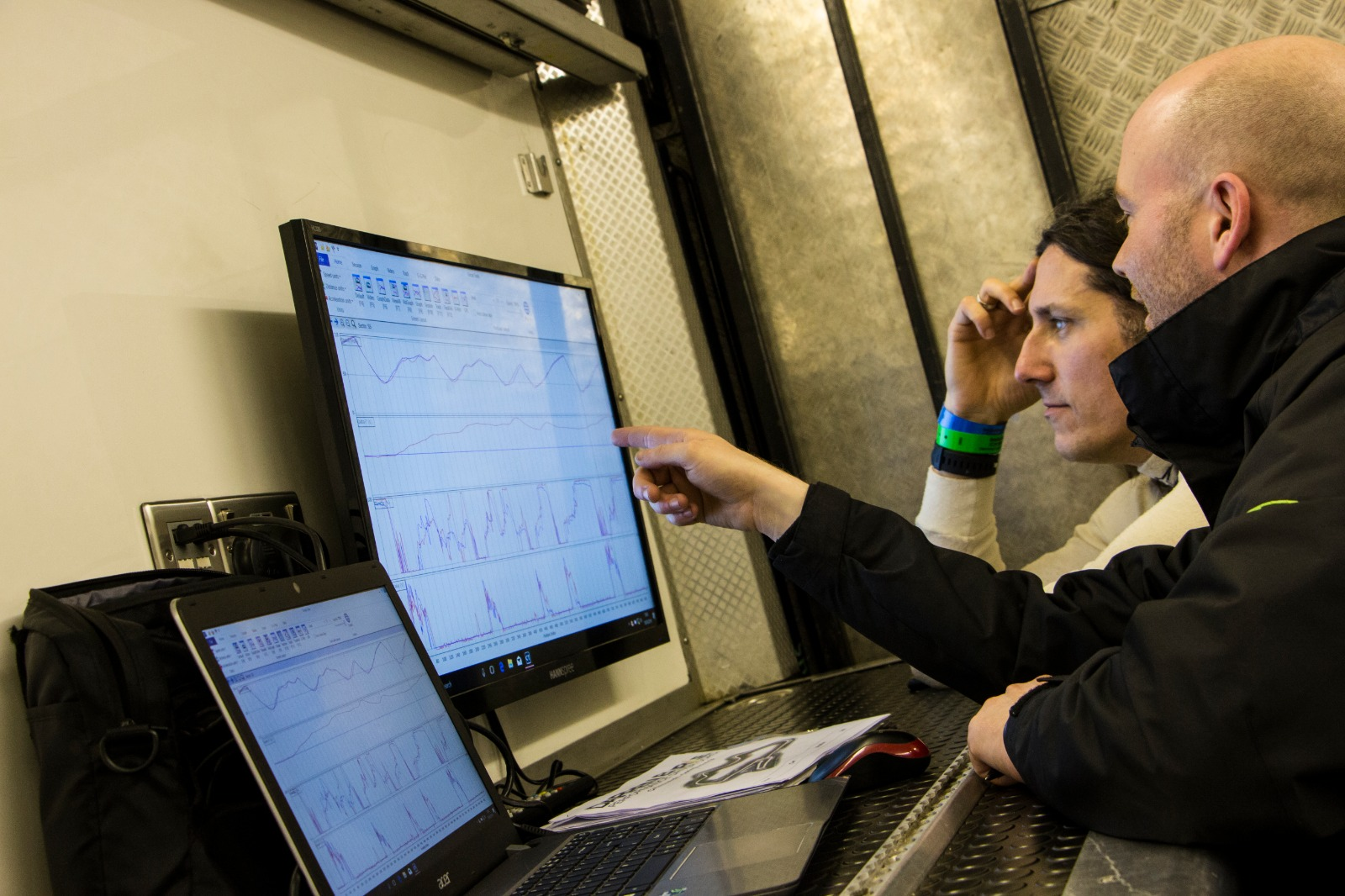Using data to help race drivers