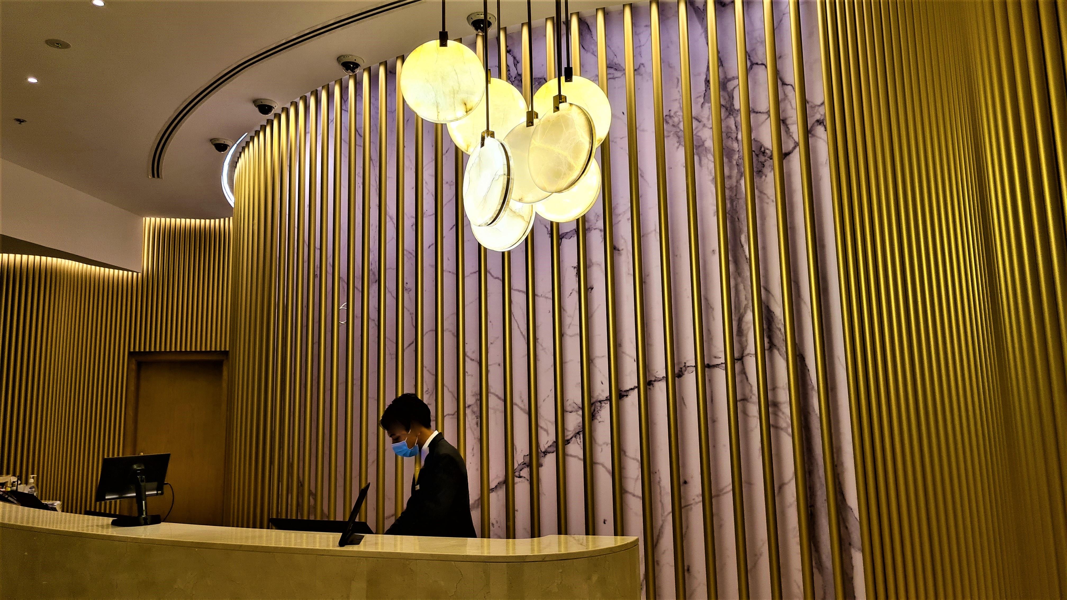 Exquisite Reception Area at Millennium Airport Hotel