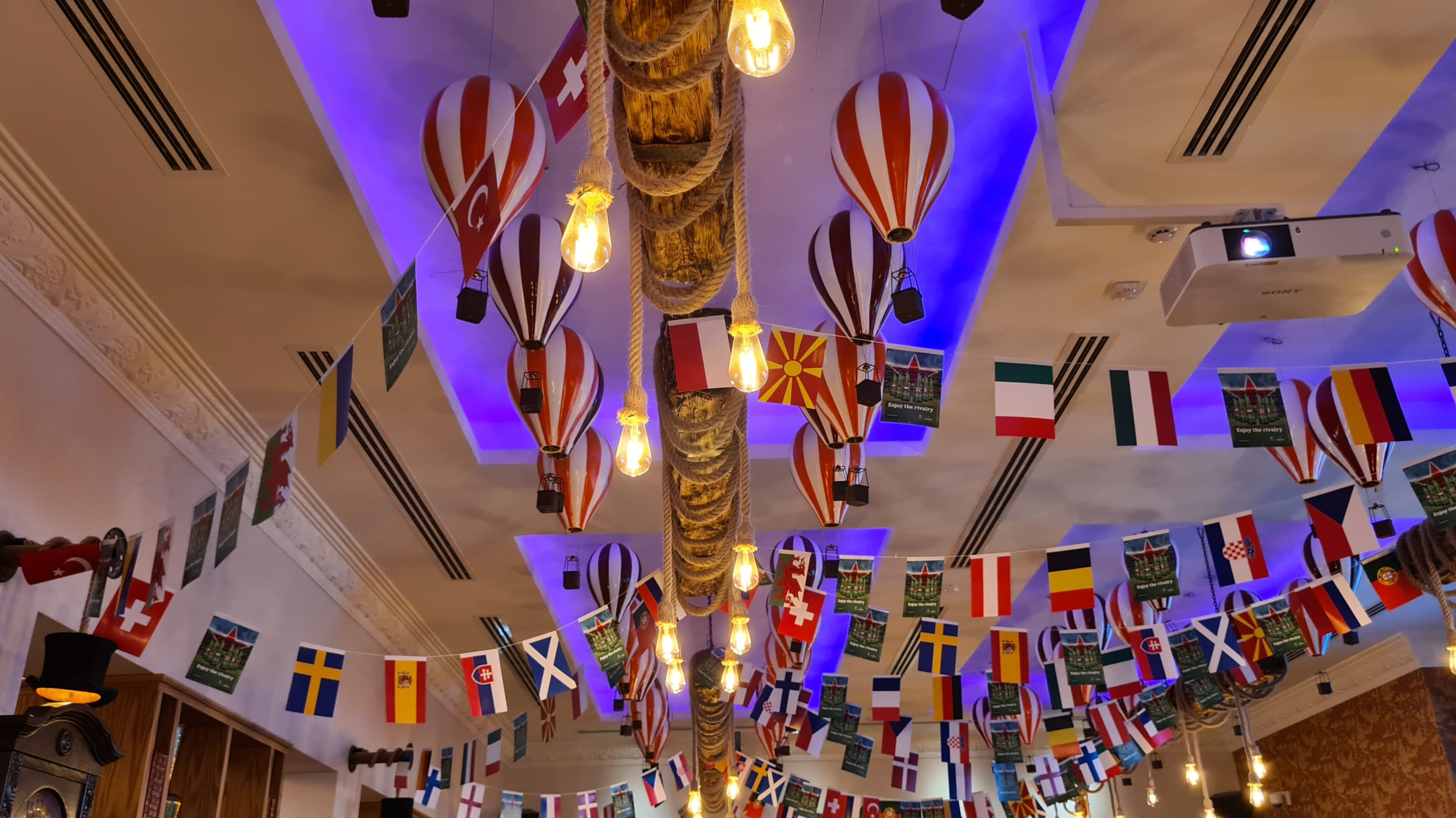 The Pub at Phileas Fogg where Lighting Control Solutions are provided by Creation
