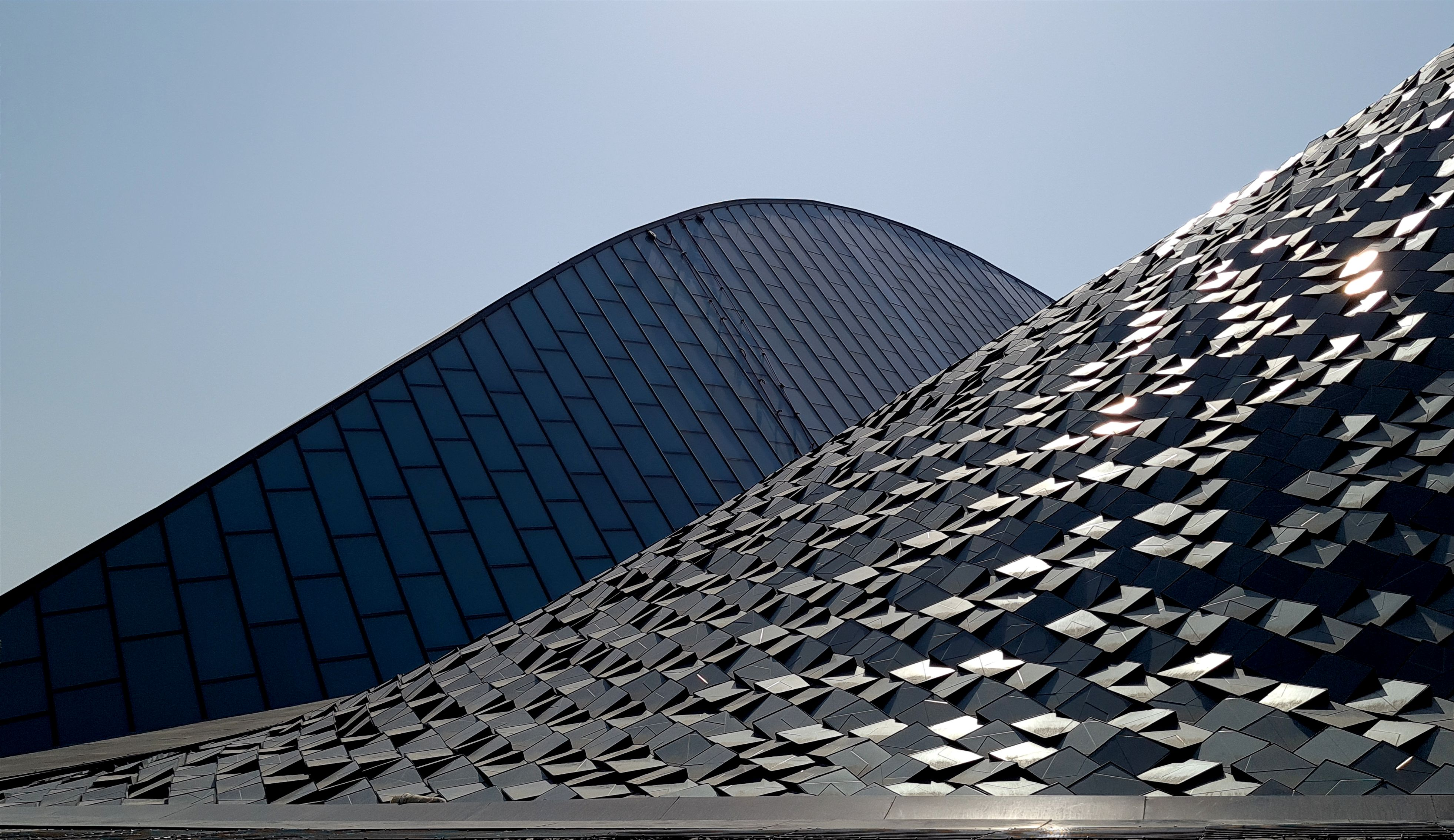 Roof Structure of UAE Pavilion, Abu Dhabi