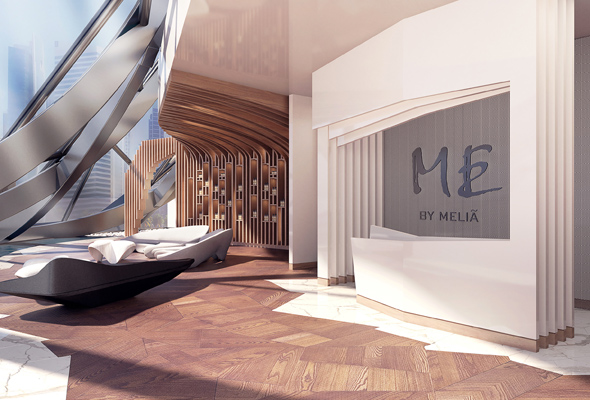 ME by Melia Spa Entrance, The Opus