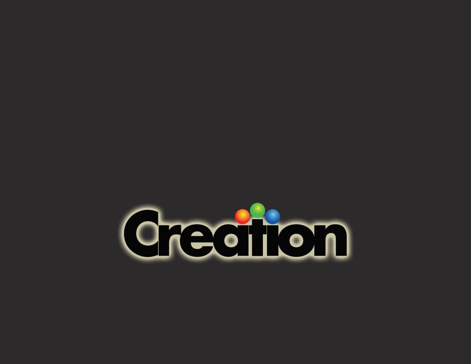 Creation Portfolio Cover