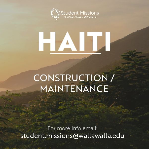 Haiti is calling