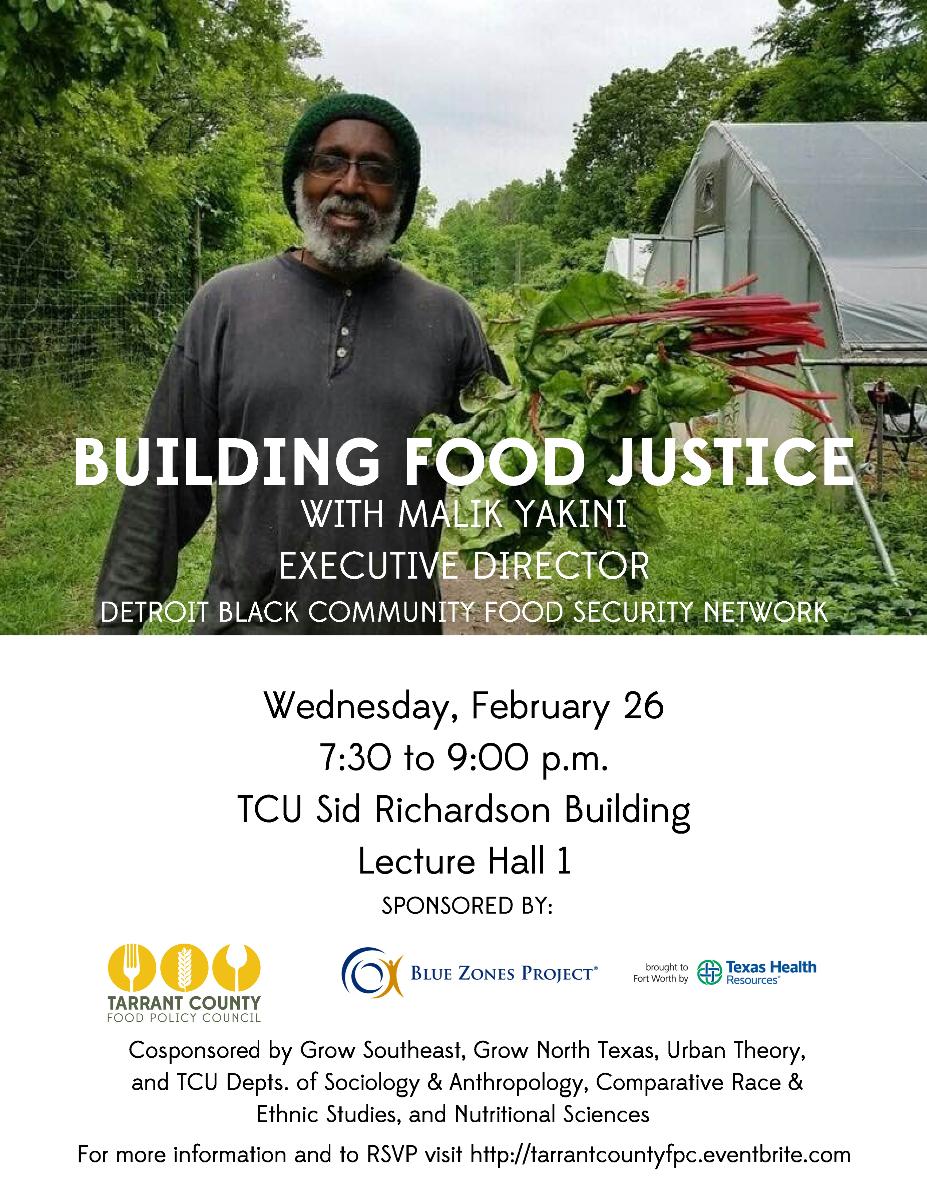 Building Food Justice
