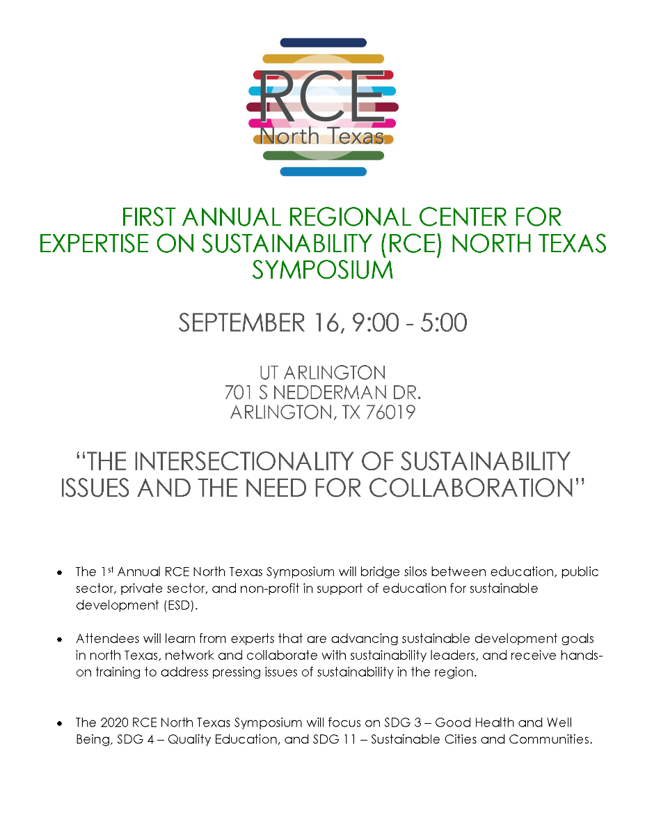 RCE Symposium Flyer