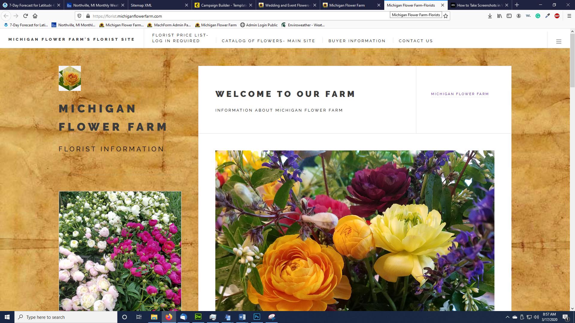 Florists Website