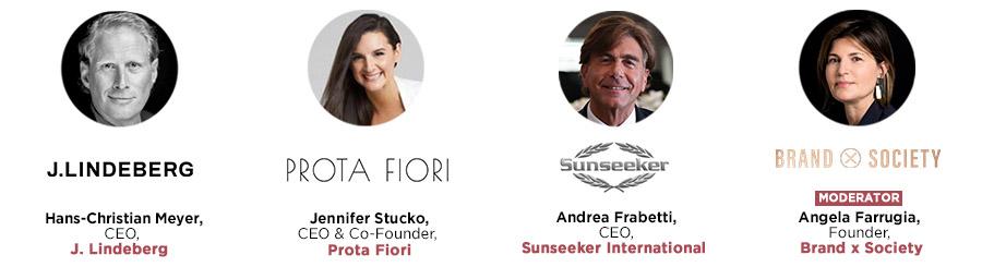J.Lindberg, Prota Fiori, Sunseeker, Brand X Society