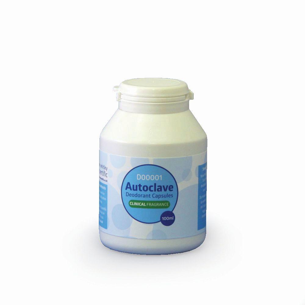 Autoclave Deodorant Capsules