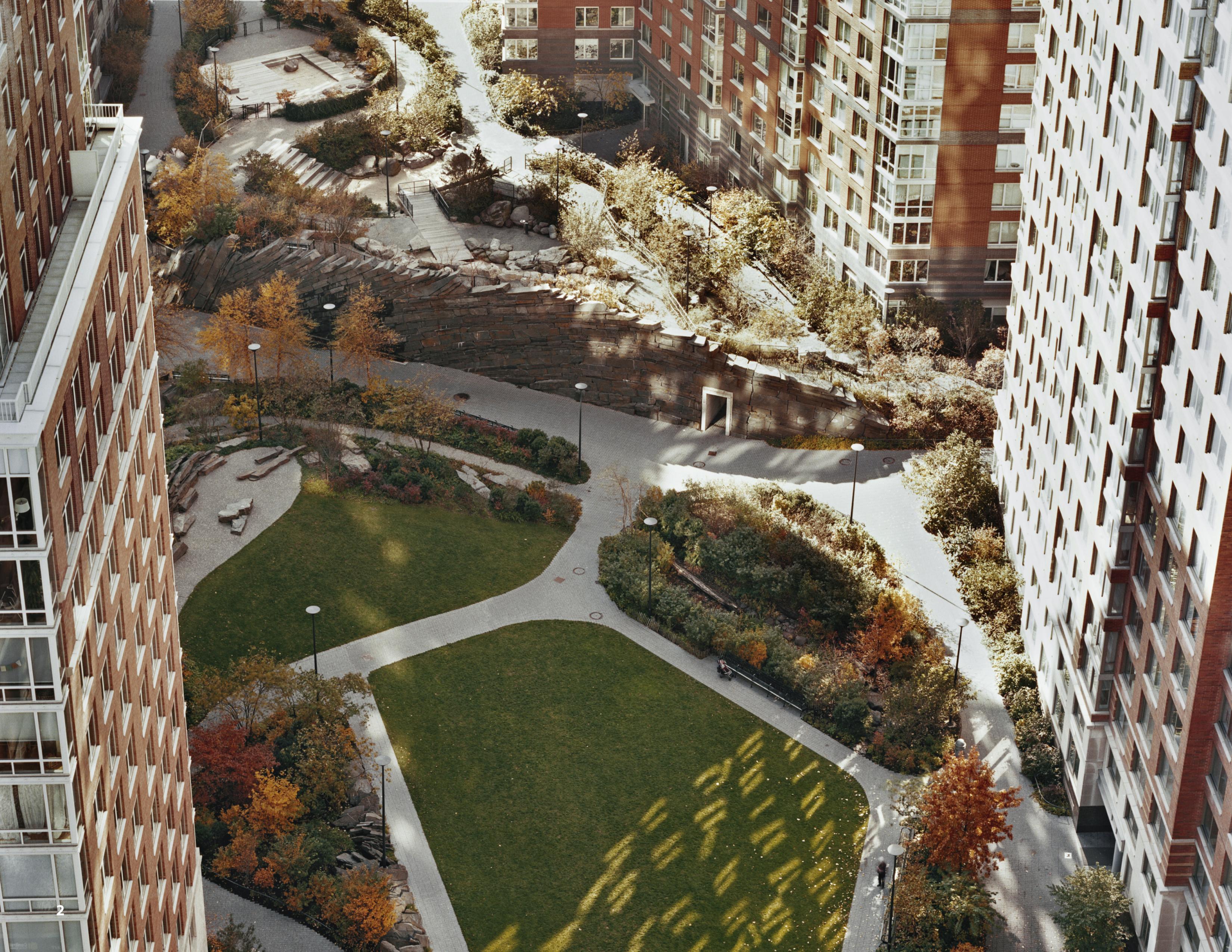 MFS Engineers - NYC Parks - Teardrop Park - Land Surveying