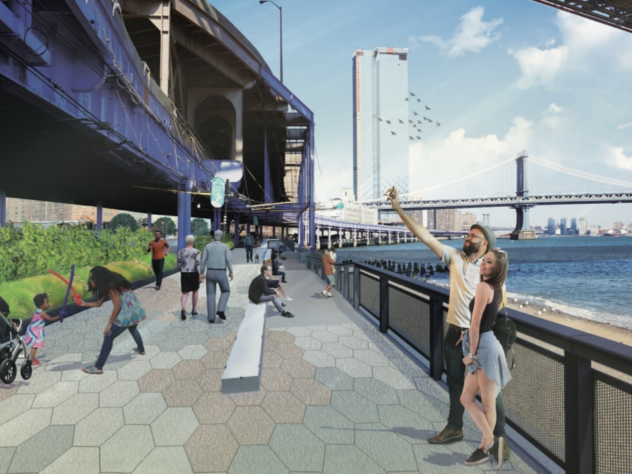 MFS Engineers - Brooklyn Bridge Esplanade - Geotechnical Drilling - Structural Engineering