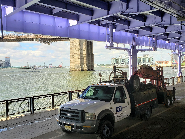 MFS Engineers - NYC Parks - Brooklyn Bridge Esplanade - Geotechnical and Structural Engineering - NYCEDC