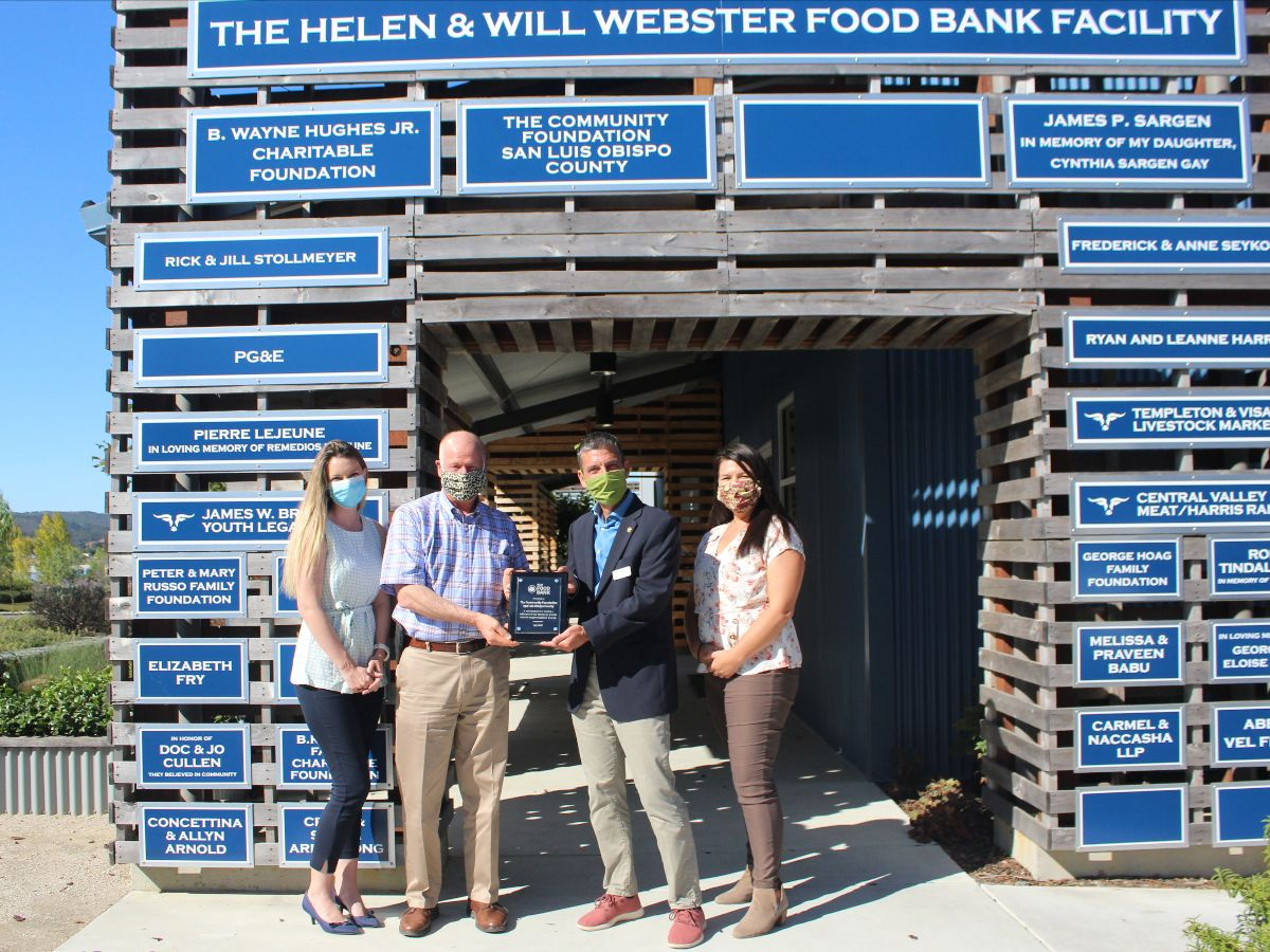 SLO Food Bank Appreciation for the Foundation
