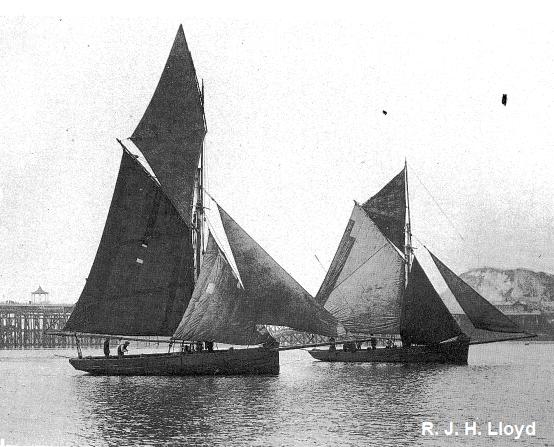 Welsh oysters skiffs- R. J. H. Lloyd