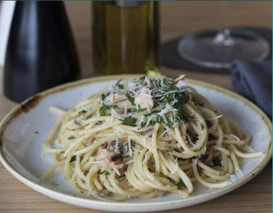 Welsh Seafood Pasta