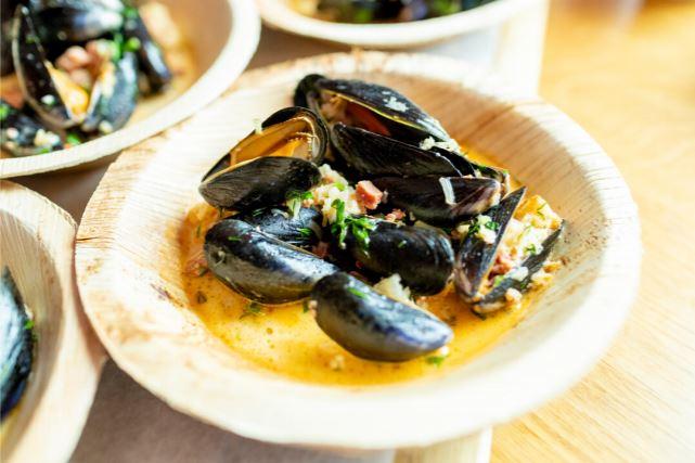 Menai Mussels with Cwm Farm Nduja