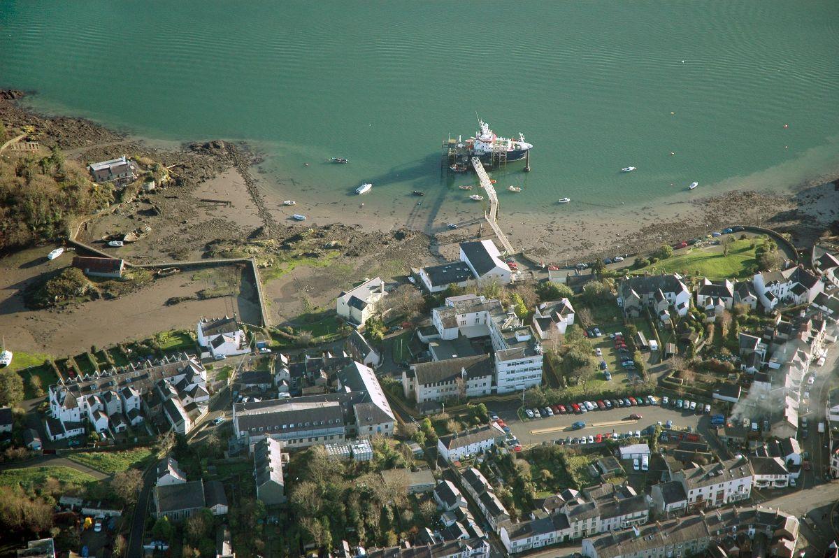 Aerial image of School of Ocean Sciences, Menai Bridge