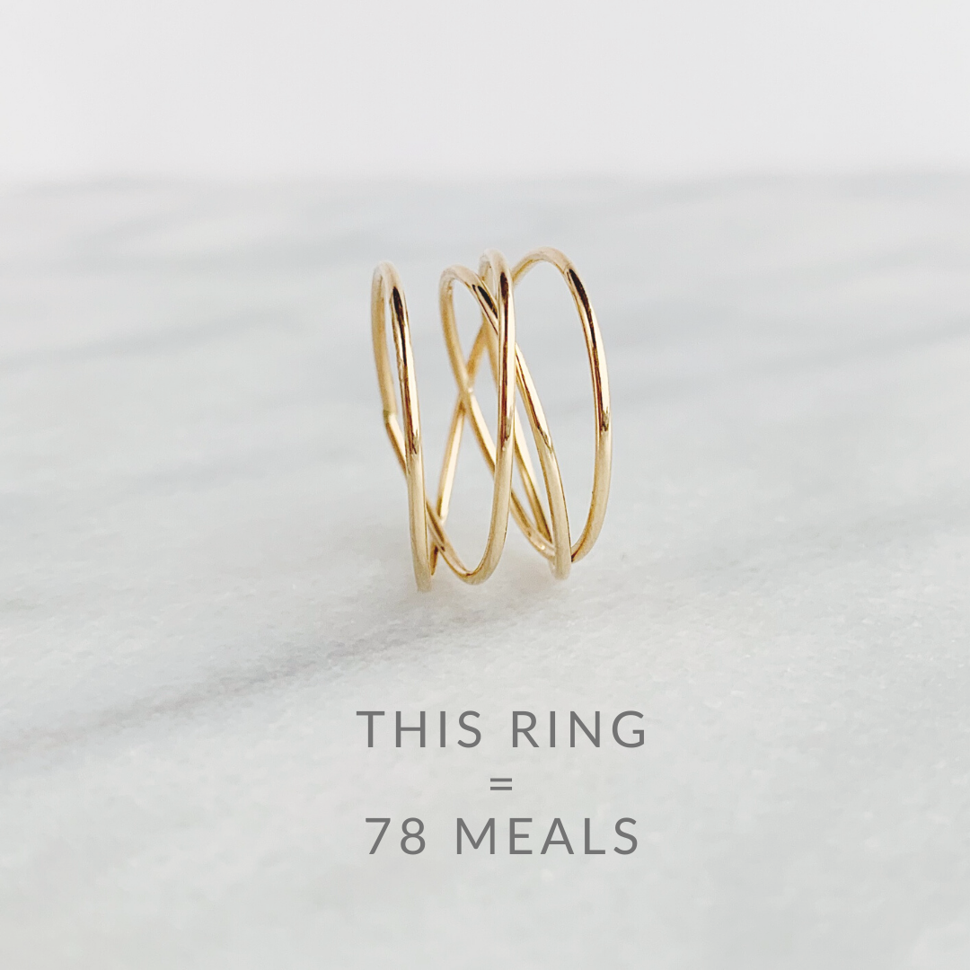 Woven Ring 14K Gold Fill