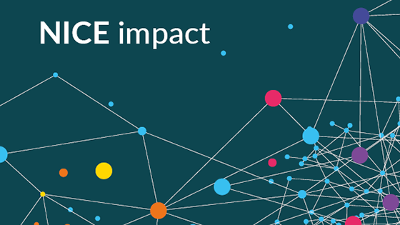 The generic NICE impact cover of the series of reports