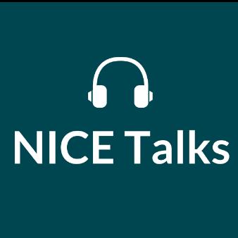NICE Talks podcast logo