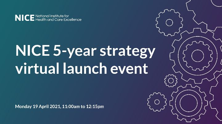 Generic graphic with the details of the launch strategy event
