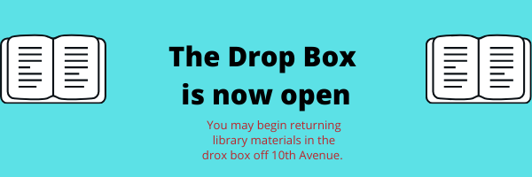The Drop Box is now open